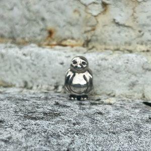 RETIRED Pandora sterling silver penguin charm
